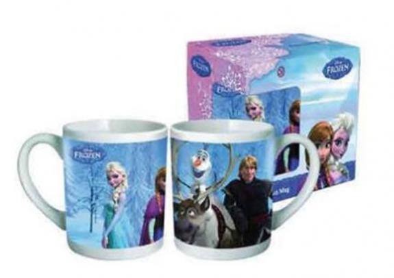Taza cerámica Frozen