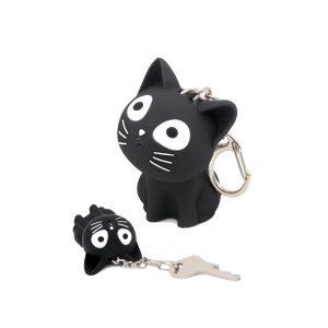 Llavero-Katy-Gato-negro-con-sonido