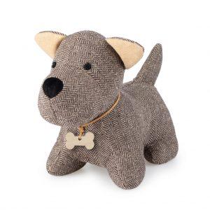 Aguantapuertas-Perro-Woof-marrón