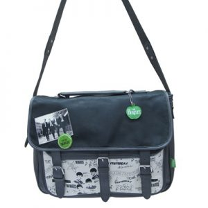 Bolso-Bandolera-The-Beatles-Graffiti-gris