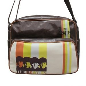 Bolso-Bandolera-The-Beatles-Rayas-marrón