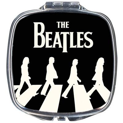 Espejo-de-bolso-The-Beatles-Paso-de-cebra-negro