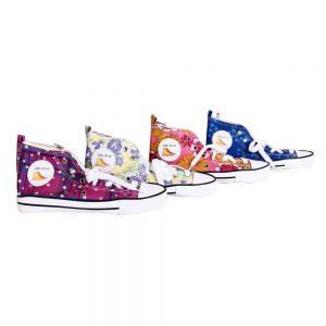 Estuche-HF-zapatilla-bamba-flores-y-colores