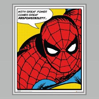 Obra-gráfica-Spiderman-Responsability-CN